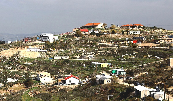 """The tiny community of Havat Gilad: recognized as a """"community"""" at last."""