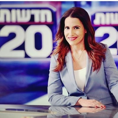 Dana Somberg, the new face of Israeli news, premiering tonight on conservative Channel 20.