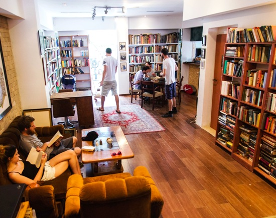 The Little Prince Cafe and Bookstore in Tel Aviv.