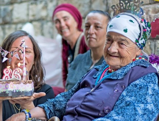 Margalit Zinati on her 86th birthday: she is the last remaining member of a Jewish family that has lived in Peki'in Israel since the destruction of the Second Temple in 70 CE--and in the land of Israel for over a thousand years before that.